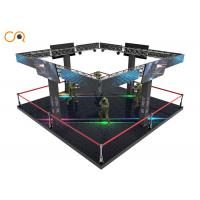 Buy cheap 4 Players Center Game Machine VR Space Simulator 4.5 * 4.5 * 2.4M from wholesalers