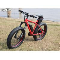 Buy cheap Fatboy Electric Fat Tire Snow Bike With Colorful LCD Display For Adults from wholesalers