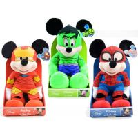 Buy cheap Marvel Disney Spiderman / Hulk / /Iron Mickey Mouse And Minnie Mouse Stuffed Animals Toys from wholesalers