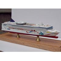 Buy cheap Norwegian Dawn Cruise Ship 3d Model Ivory White Color , Carbon Fibre Hull Material from wholesalers