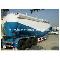 Buy cheap Bulk cement tank semi trailer for coal ash powder Leaf spring suspension with warranty from wholesalers