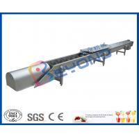 Buy cheap Screw Conveyor Design Fruit Processing Equipment With SUS304 Stainless Steel from wholesalers