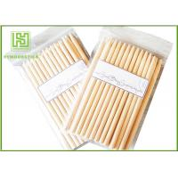 Buy cheap Two Points Natural Wood Sticks Wooden Dowels For Crafts With Chamfer Angles from wholesalers