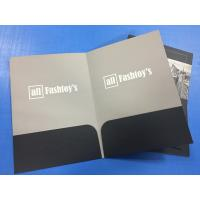 Buy cheap OEM Personalized Pocket Folders A4 Size Embossing Saddle Stitching Custom Color from wholesalers