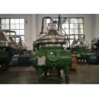 Juneng Machinery Disc Oil Separator Centrifuge for Vegetable Oils / Fats Refining