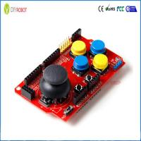 Buy cheap Analog Joystick Shield for Arduino Mouse Function Rocker Button Game Keyboard Module from wholesalers
