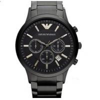 Buy cheap Emporio Armani AR2453 Classic All Black Ion-Plated Men's SS Bracelet Watch from wholesalers