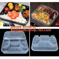 Buy cheap Supermarket display wholesale storage fruit food defrosting plastic tray,manufacturer supply bpa free reusable 3 compart from wholesalers