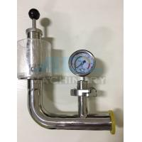 Buy cheap Air Pressure Relief Valve with Manometer for Fermentation Tank Pressure Relief Valve from wholesalers