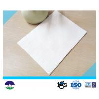 Buy cheap Non Woven Geotextile Drainage Fabric Flexible For Power Plant PET 250GSM from wholesalers