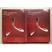 Buy cheap Full Retail Adobe Graphic Design Software For Windows Original DVD/CD Genuine from wholesalers