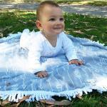 Buy cheap microfiber custom children small round beach towel kids round towels kids roundies from wholesalers