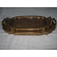Buy cheap Wooden Tray from wholesalers