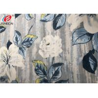 Buy cheap Press Glue Polyester Sofa Velvet Upholstery Fabric , Print Knitted Fabric from wholesalers