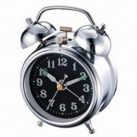Buy cheap 3-inch Mechanical Twin Bell Alarm Clock with Old Classic Design from wholesalers