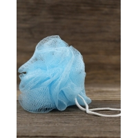 Buy cheap Loofah-Bath-Sponge Lace-Mesh-Set 2-Scrubs-in-1 by Shower Bouquet: Large Full 60g Pouf (4 Pack Spa Colors) Body Luffa product