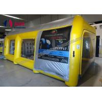 Buy cheap Outdoor portable mini inflatable paint booth,inflatable spray paint tent for car from china  manufacture from wholesalers