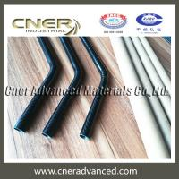 Buy cheap Carbon fiber bend, OD 18mm carbon fibre elbow, carbon fiber goose neck, matte and glossy finish from wholesalers