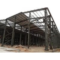 Buy cheap Recyclable Workshop Steel Structure With Excellent Anti - Impact Ability from wholesalers