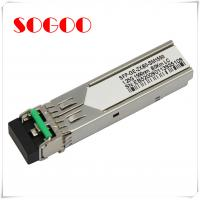Buy cheap 1000BASE-T Single Mode SFP Optical Transceiver / Module GLC-T from wholesalers