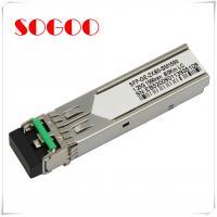Buy cheap 1000BASE-T Single Mode SFP Optical Transceiver / Module GLC-T product