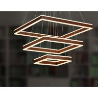 Buy cheap Square modern multilayer dimmable led pendant lights & metal pendant light for hotel from wholesalers