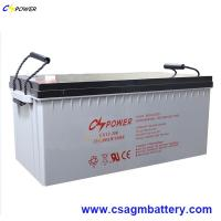 Buy cheap Deep Cycle Gel Battery 12V300ah for Solar Panel/Charger Controller from wholesalers