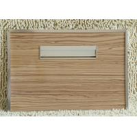 Buy cheap Melamine Slot Wall Board Decorative Interior Wall Paneling For Furniture from wholesalers