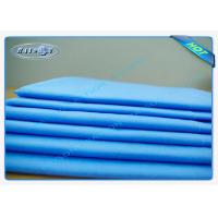 Buy cheap PP Spunbond Non Woven Disposable Bed Sheet / Surgical Bed Sheets for Hospital from wholesalers