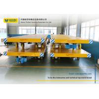 Buy cheap Easy Operated Heavy Duty Plant Trailer / Material Handling Carts Towing Control from wholesalers