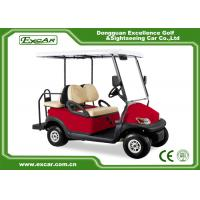 Buy cheap Electric Golf Carts 10 Inches Aluminum Wheel 3.7KW ADC Motor/Trojan Battery from wholesalers
