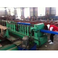 Buy cheap 8 - 10 m / min Square Downspout Roll Forming Machine Fly Saw Cutting Type from wholesalers