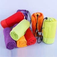 Buy cheap Microfiber Sport Towel With Bag Swimming Travel Gym Microfiber Towel from wholesalers