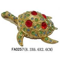 Buy cheap Wholesale Turtle Jewelry Trinket Box from wholesalers