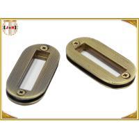 Buy cheap Zinc Alloy Metal Custom Oval Rings For Handbags , Antique Brass Purse Making Hardware from wholesalers