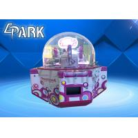 Buy cheap Coin Operated Kids Amusement Redemption Game Machine / Sweet Land 4 Push Candy Claw Crane Machine from wholesalers