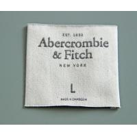 Buy cheap High quality factory direct cheap garment woven label from wholesalers