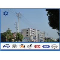 A345 Q460 Steel Antenna Towers Electrical Power Pole 2.5 mm - 30 mm Thickness