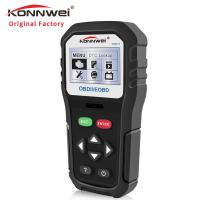 Buy cheap 16 Pin Konnwei Car Diagnostic Scanner One-click I/M Readiness OBD2 Code Reader product