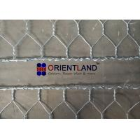Buy cheap Hot Dipped Galvanized Flexible Gabion Wall Baskets Reno Mattress For Stream Bed Drain from wholesalers