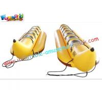 Buy cheap Children funny Inflatable Banana Boat Towables Toys with thick O anchor point for river from wholesalers
