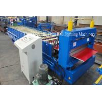 Buy cheap Galvanized Metal Roofing Sheet Roll Forming Machine Automatic Standing Seam from wholesalers