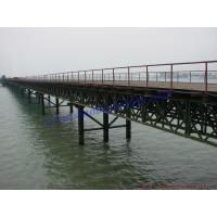 Buy cheap Customized Overhung Deck,Stability Bailey Bridges,Portable Steel Bridges,psb,CB100, CB200 from wholesalers