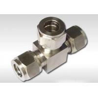 Buy cheap Eaton Parker Swagelok hydraulic fitting adapter from wholesalers