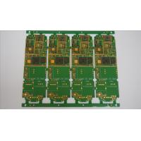 Buy cheap FR4 1.6mm 1OZ Multilayer PCB Manufacturing Process For Telecommunications product