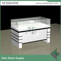 Buy cheap Ultra glass watches display showcase commercial retail store furniture shop watch from wholesalers