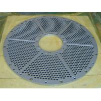 Buy cheap 1000mm*2000mm powder coating metric perforated sheet metal for Africa / 48*48 Mild Steel honeycomb perforated sheet from wholesalers