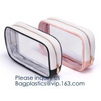 Buy cheap Zippered Carry on Toiletry Bag Quart Luggage Pouch Travel Wash Bag Accessories Organizer Bag Set for Women Men Vacation from wholesalers