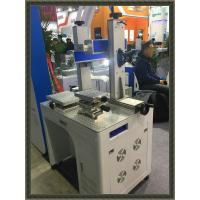 Buy cheap 50w Fiber Laser Marking Machines for iphone case and phone cover logo print from Wholesalers