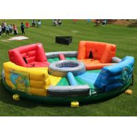 Buy cheap 0.55mm PVC Inflatable Sports Games / Hungry Hippo Chowdown For Kids And Adults from wholesalers